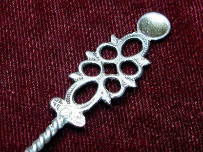 Антикварная серебряная ложка