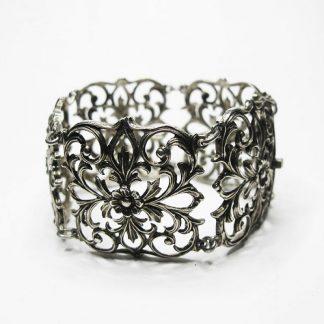 Антикварный браслет. Серебро.